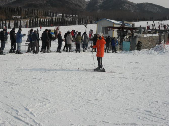 2012年金德全体人员相约林海雪场